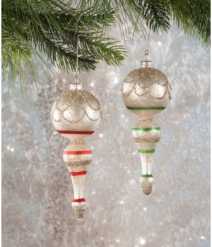 Vintage Spindle Ornament 2/A