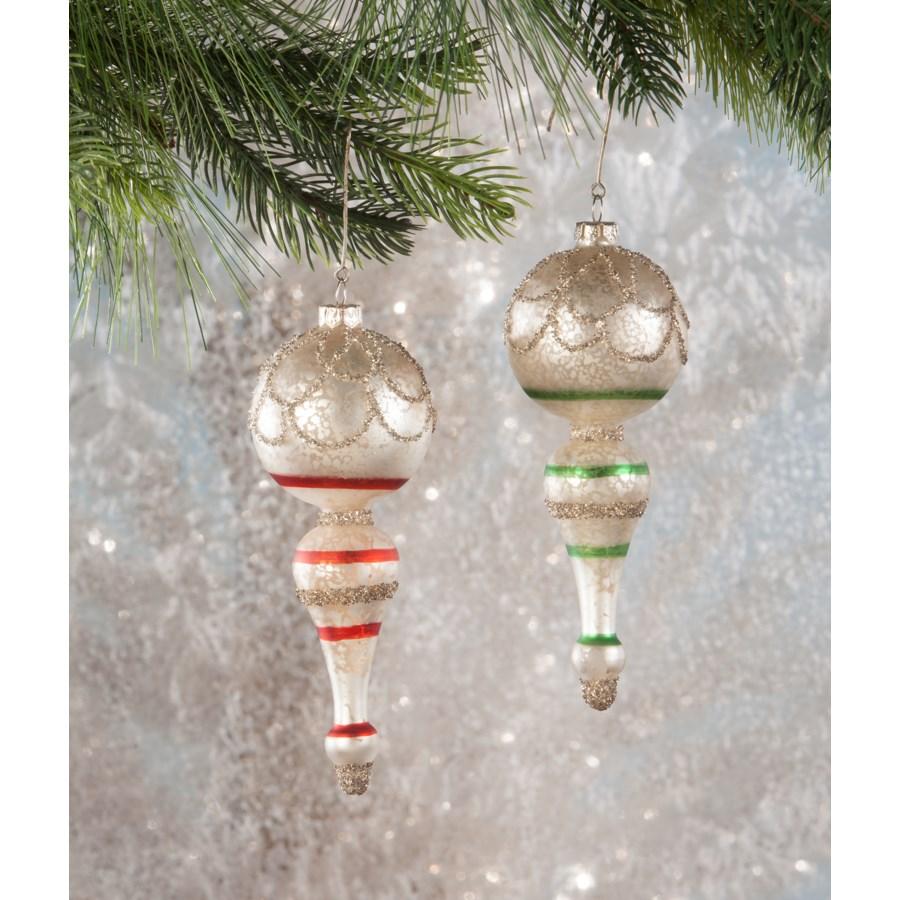 Vintage Spindle Ornament 2/A