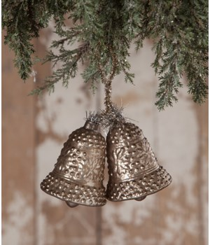Pewter Bell Ornament