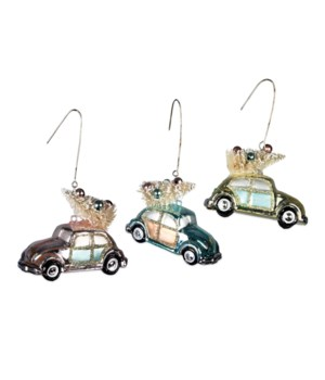 Beep Beep Bug Ornament 3/A