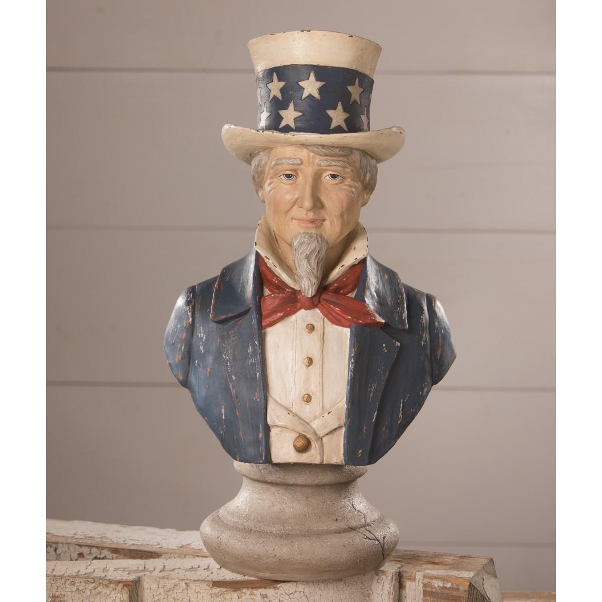 Uncle Sam Bust