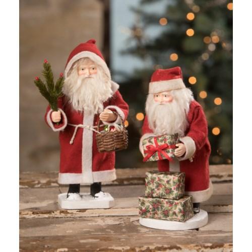 Small Vintage Santa Claus 2A