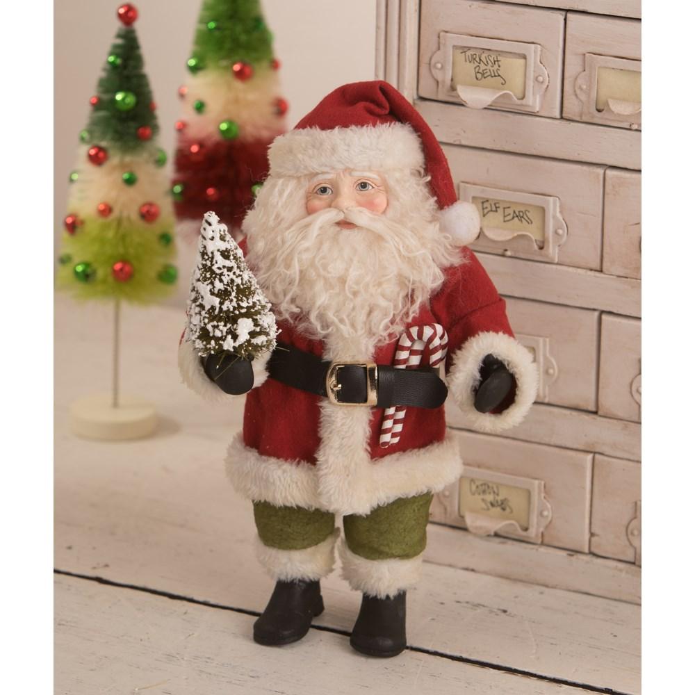 Vintage Posable Santa