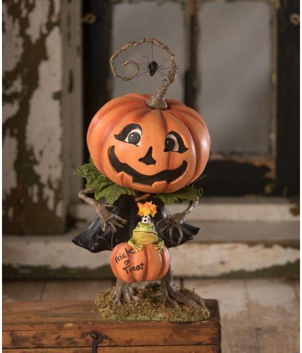 Treats Pumpkin Girl