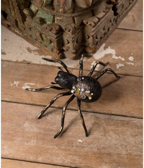 Glitter and Jeweled Spider