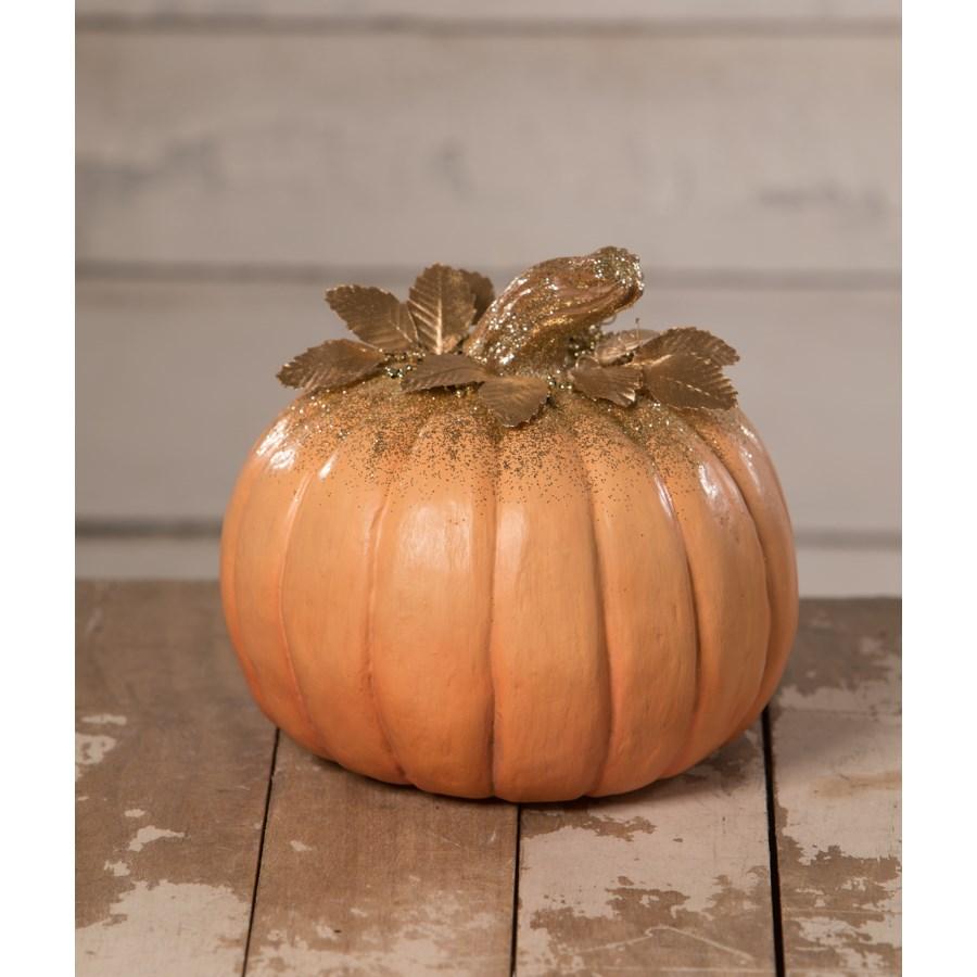 Elegant Orange Pumpkin