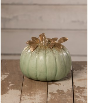 Elegant Green Pumpkin