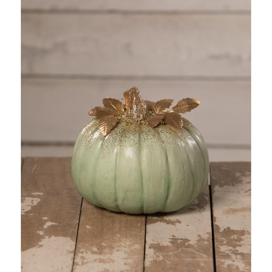 Elegant Green Pumpkin