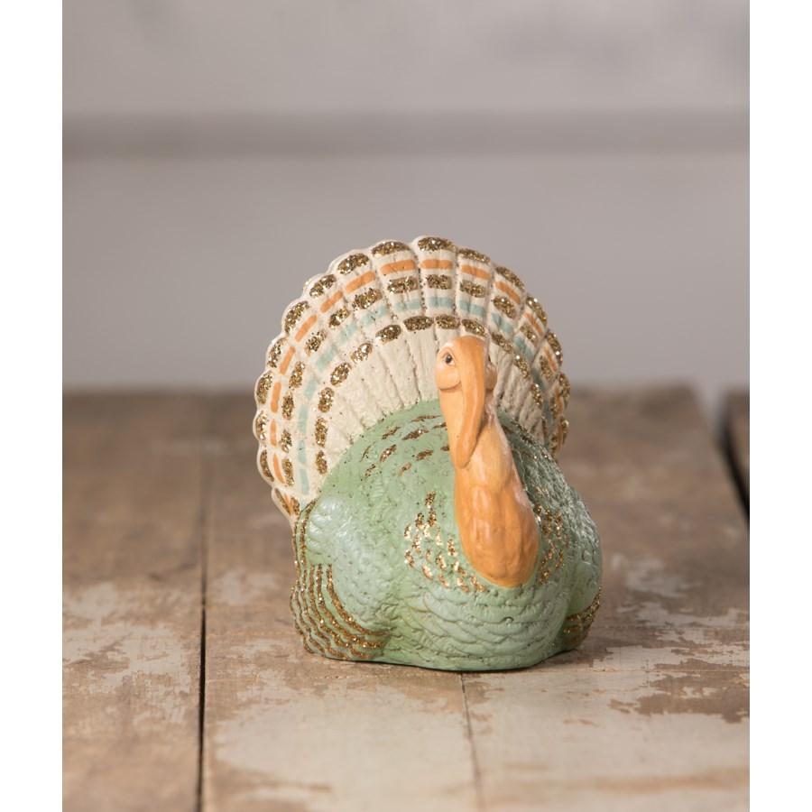 Elegant Turkey Place Card Holder
