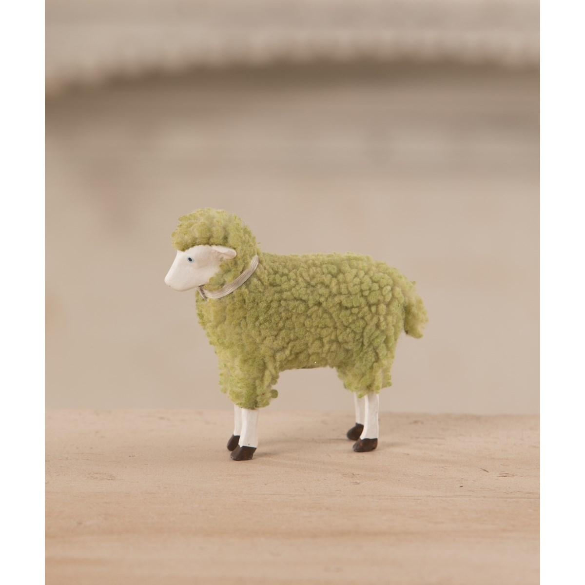 Pastel Green Sheep