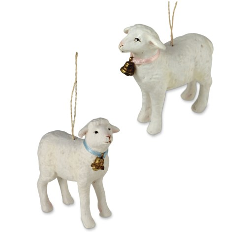 Spring Lamb Ornament 2/A