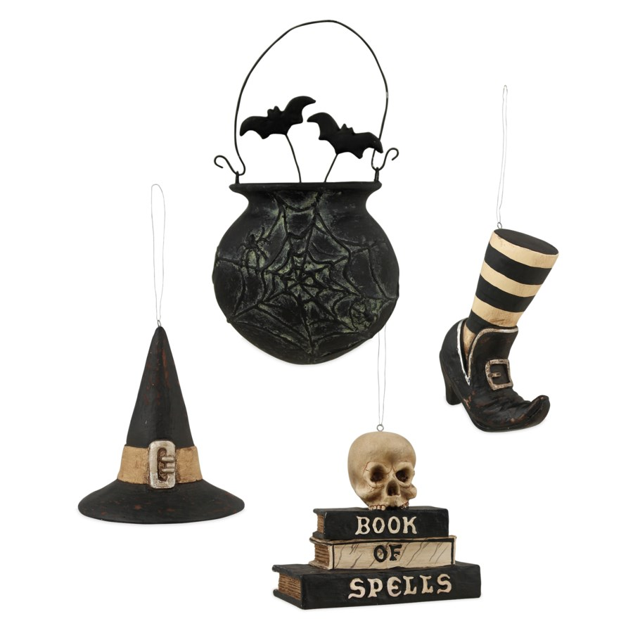 Witches Brew Ornament 4/A