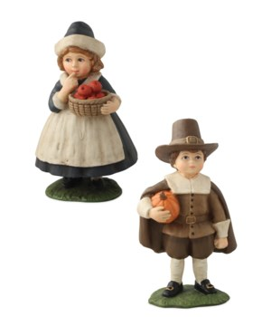 Thanksgiving Pilgrim Children 2/A