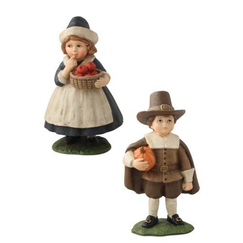 Thanksgiving Pilgrim Children 2A