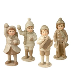 Mini Platinum Snow Children 4/A
