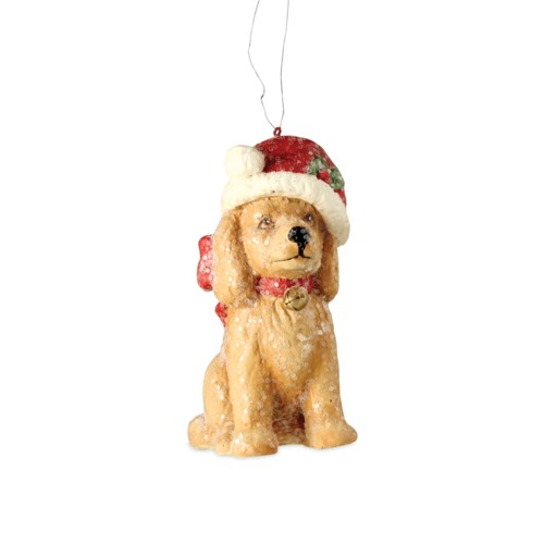 Santa Paws Ornament