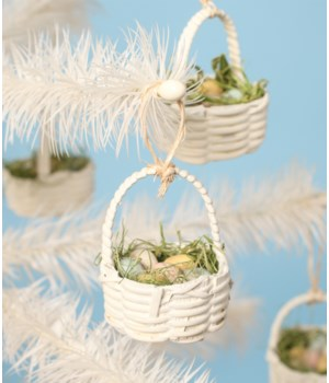 Mini Basket Ornament