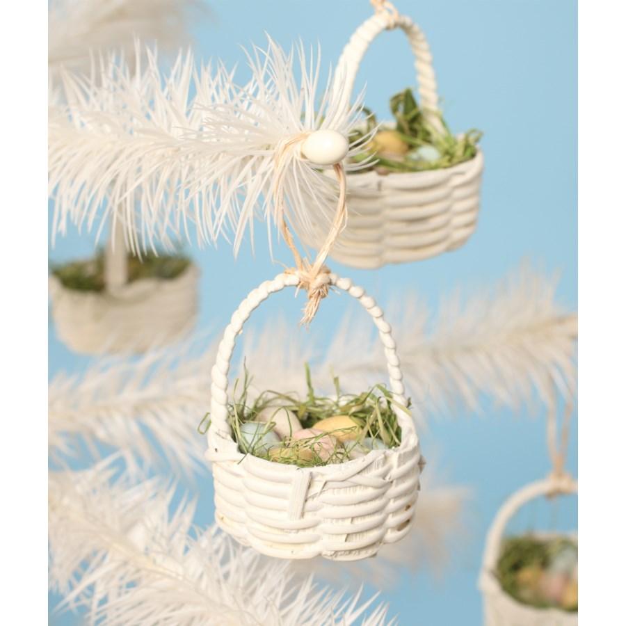 Mini Basket Ornament