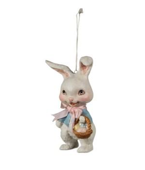 Retro Bunny Ornament