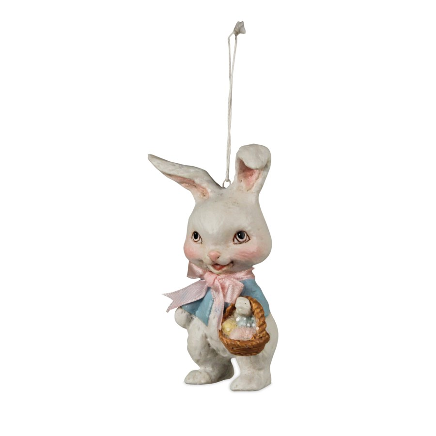 Retro Bunny Ornament