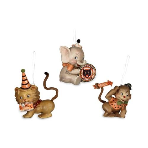 Halloween Big Top Animal Ornament 3/A