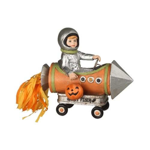 Little Halloween Rocket Boy