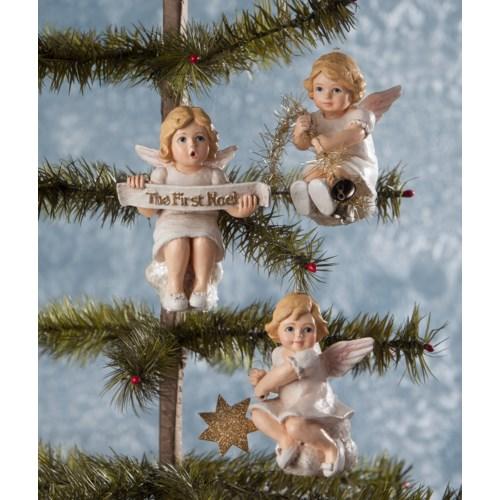 Heavenly Cherub Ornament 3/A