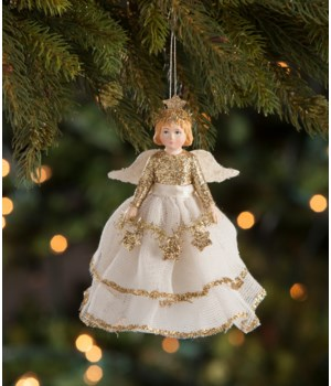Peaceful Storybook Angel Ornament