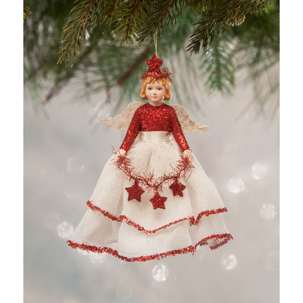 Traditional Storybook Angel Ornament