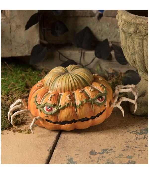 Ethan's Pumpkin Skelly Spider