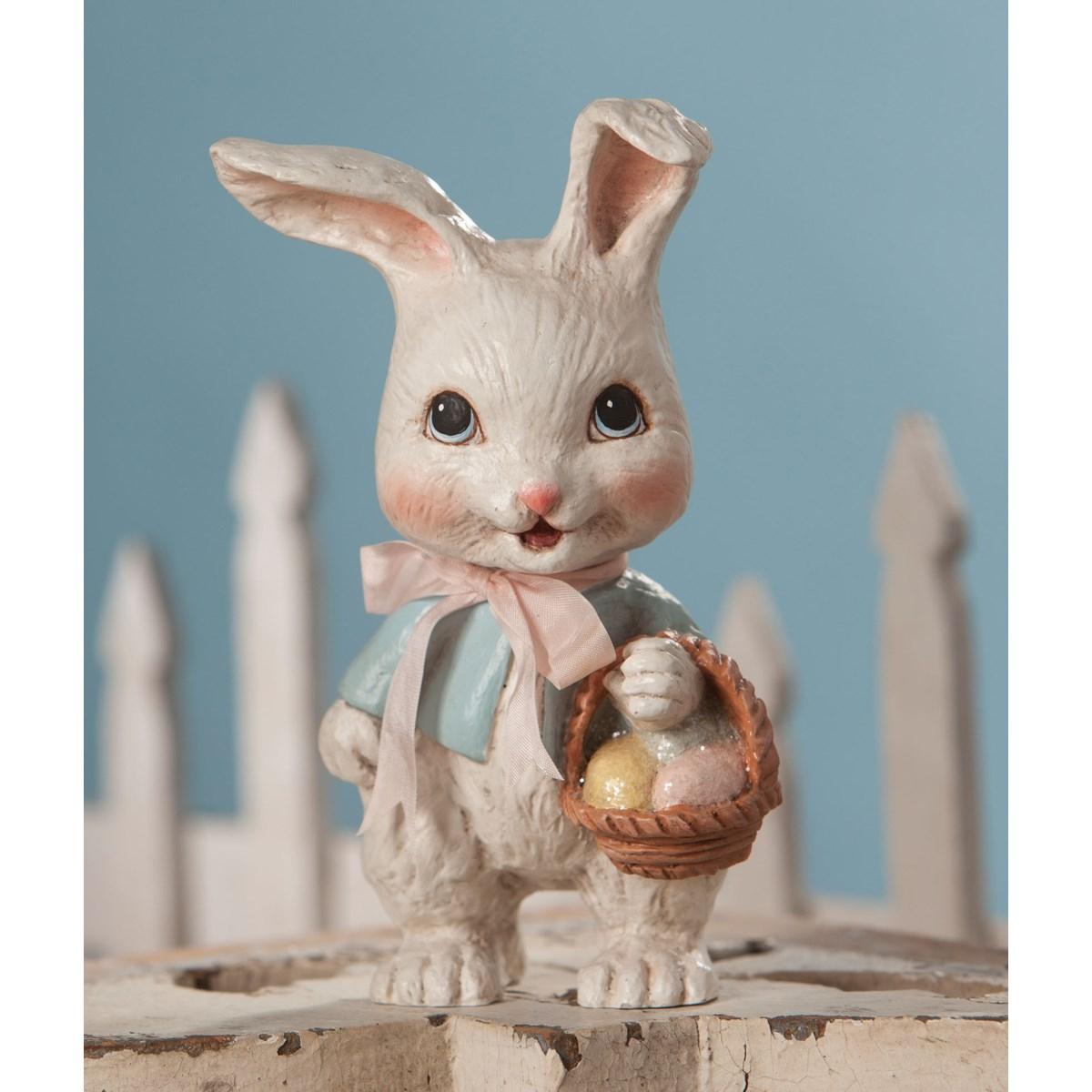 Sweet Bunny With Basket