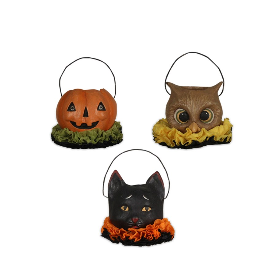 Halloween Pals Mini Ornament 3/A