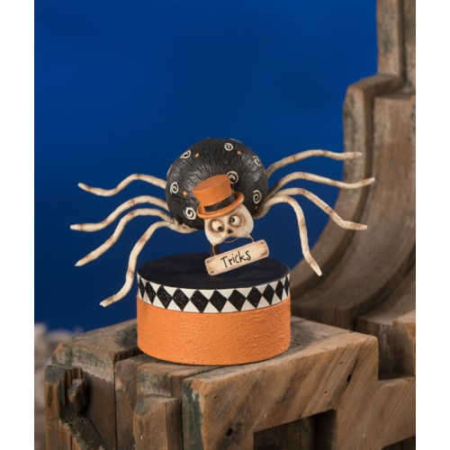 Mr. Bones Spider On Box