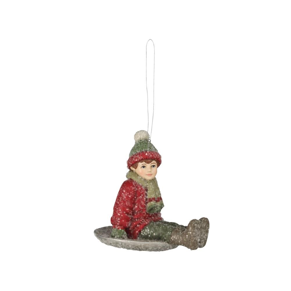 Snow Saucer Sammy Ornament