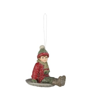 Snow Saucer Sammy Ornament