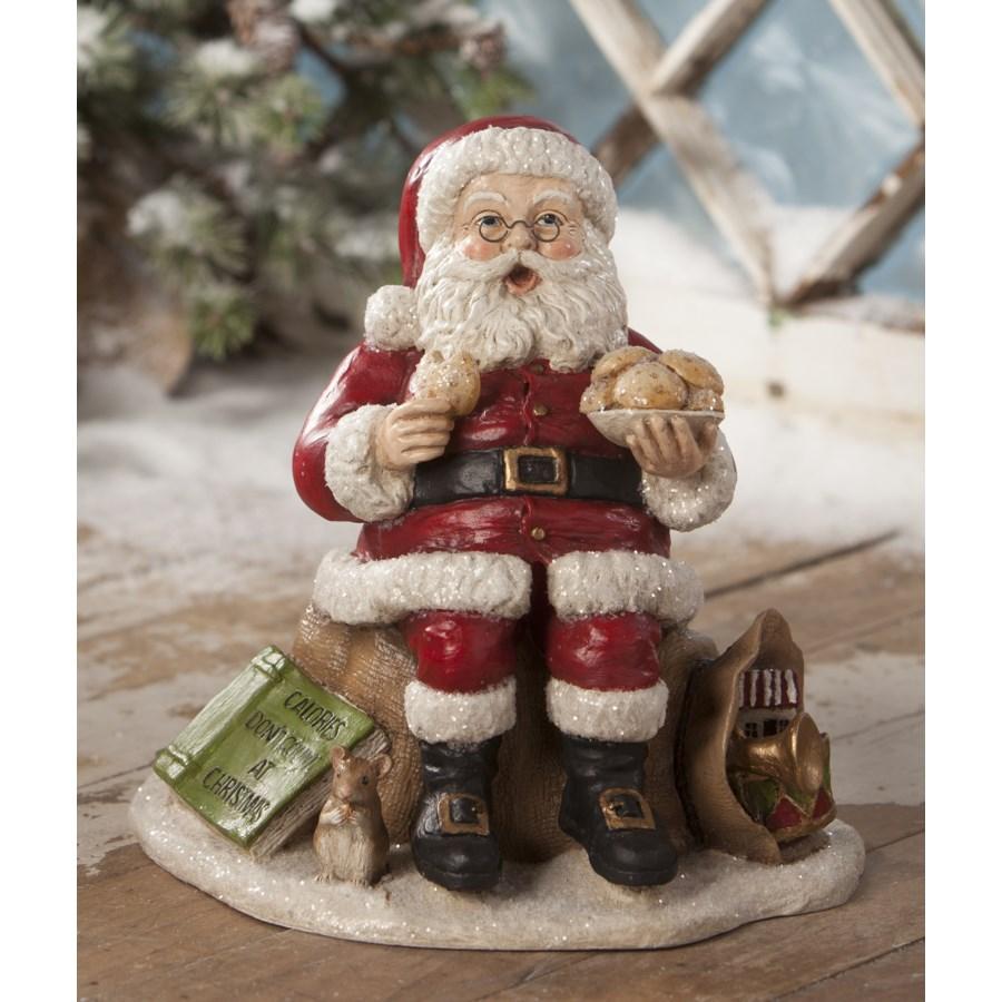Counting Calories Santa