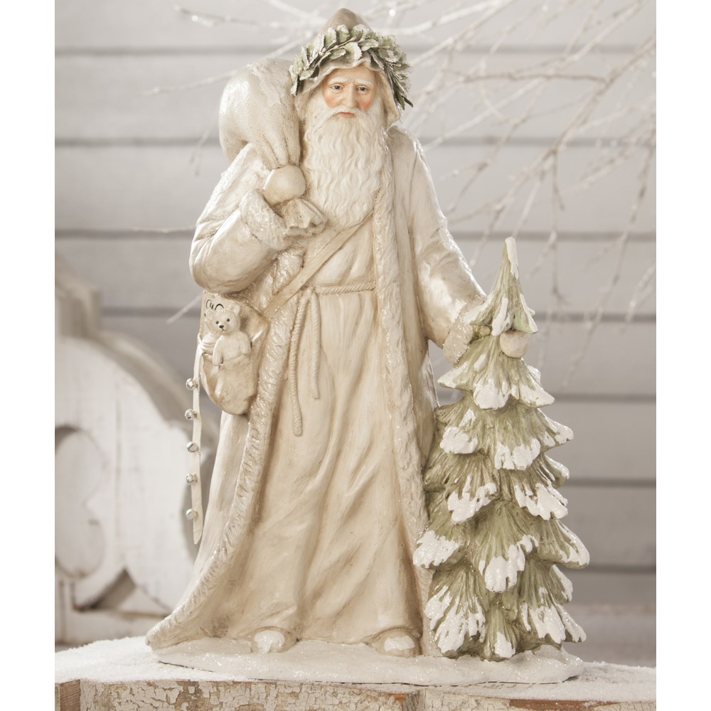 Winter White Father Christmas