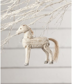 Holiday Spirit Horse Ornament