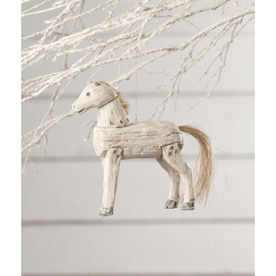 Holiday Spirit Horse Ornament