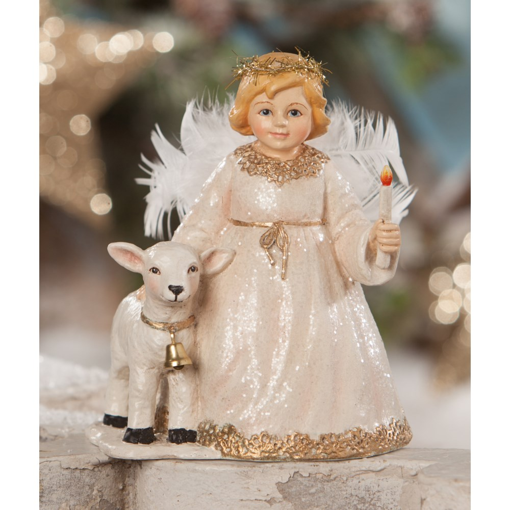 Rosalee Angel With Lamb
