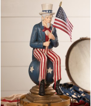 Uncle Sam on Pedestal