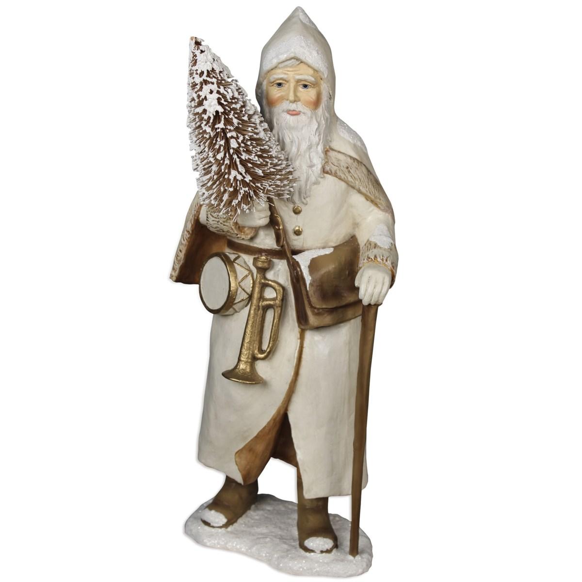 Ivory St. Nick With Walking Stick