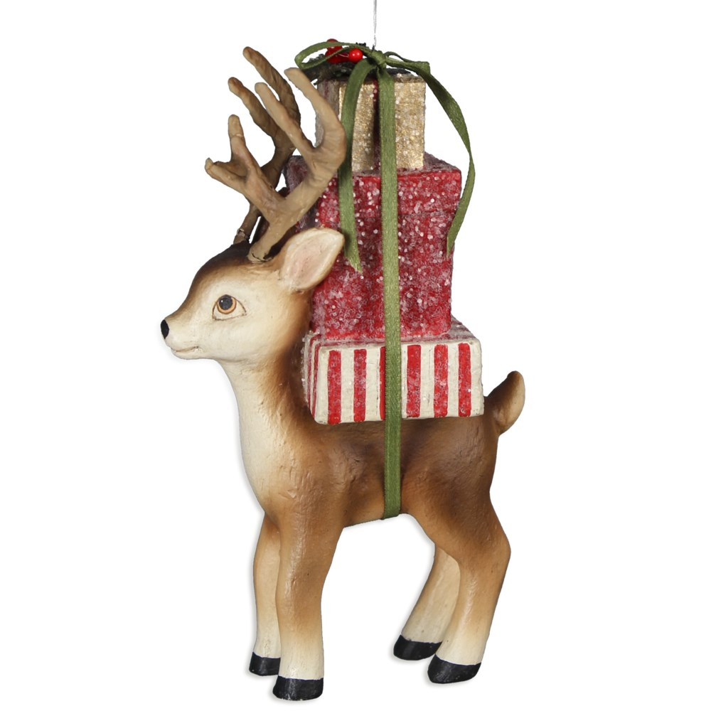 Reindeer Christmas Delivery Ornament