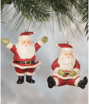 Little Santa Ornament 2A