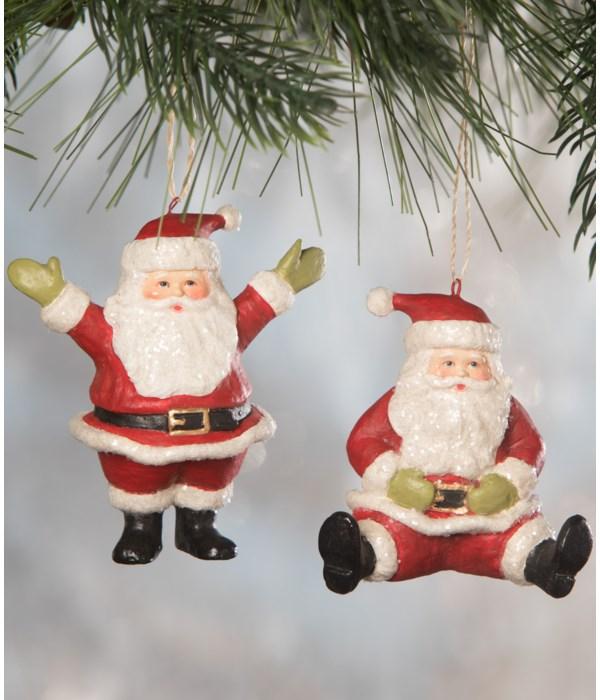 Little Santa Ornament 2A