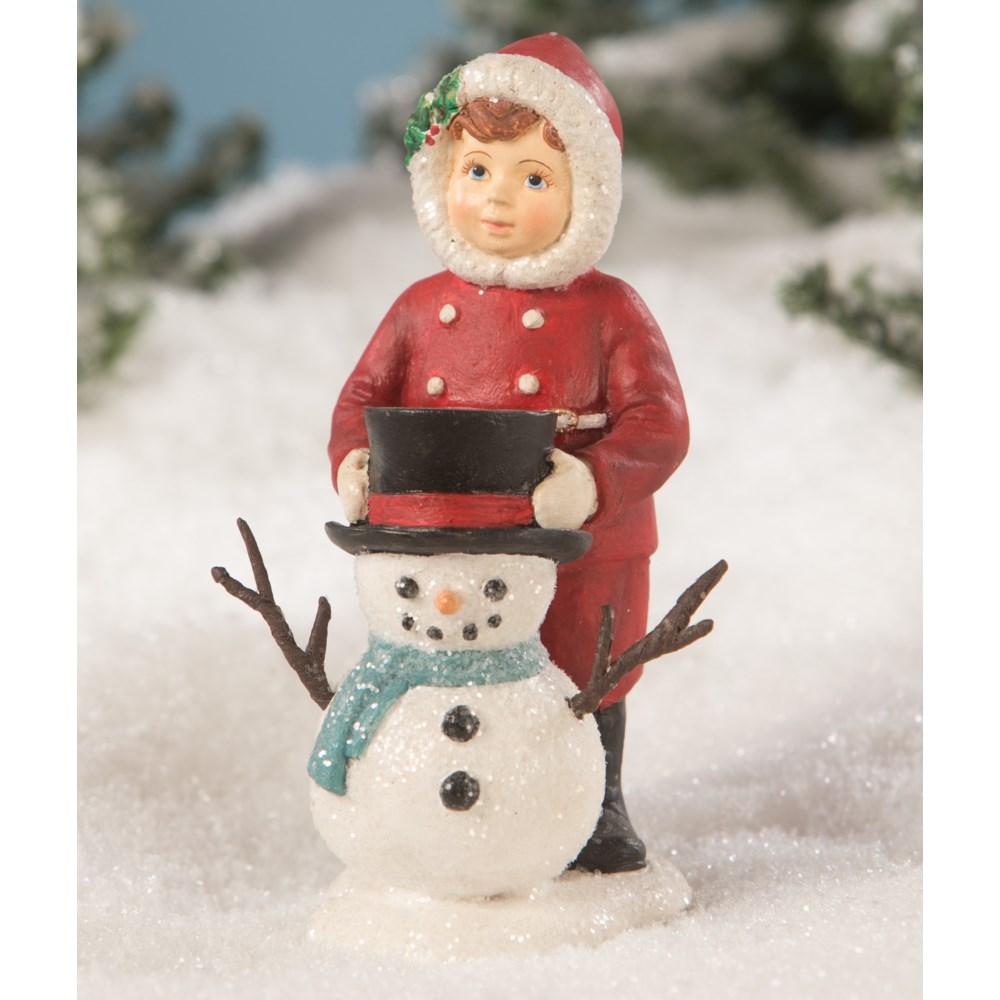 Dolly Dressing Snowman