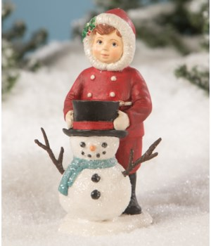 Dolly Dressing Snowman