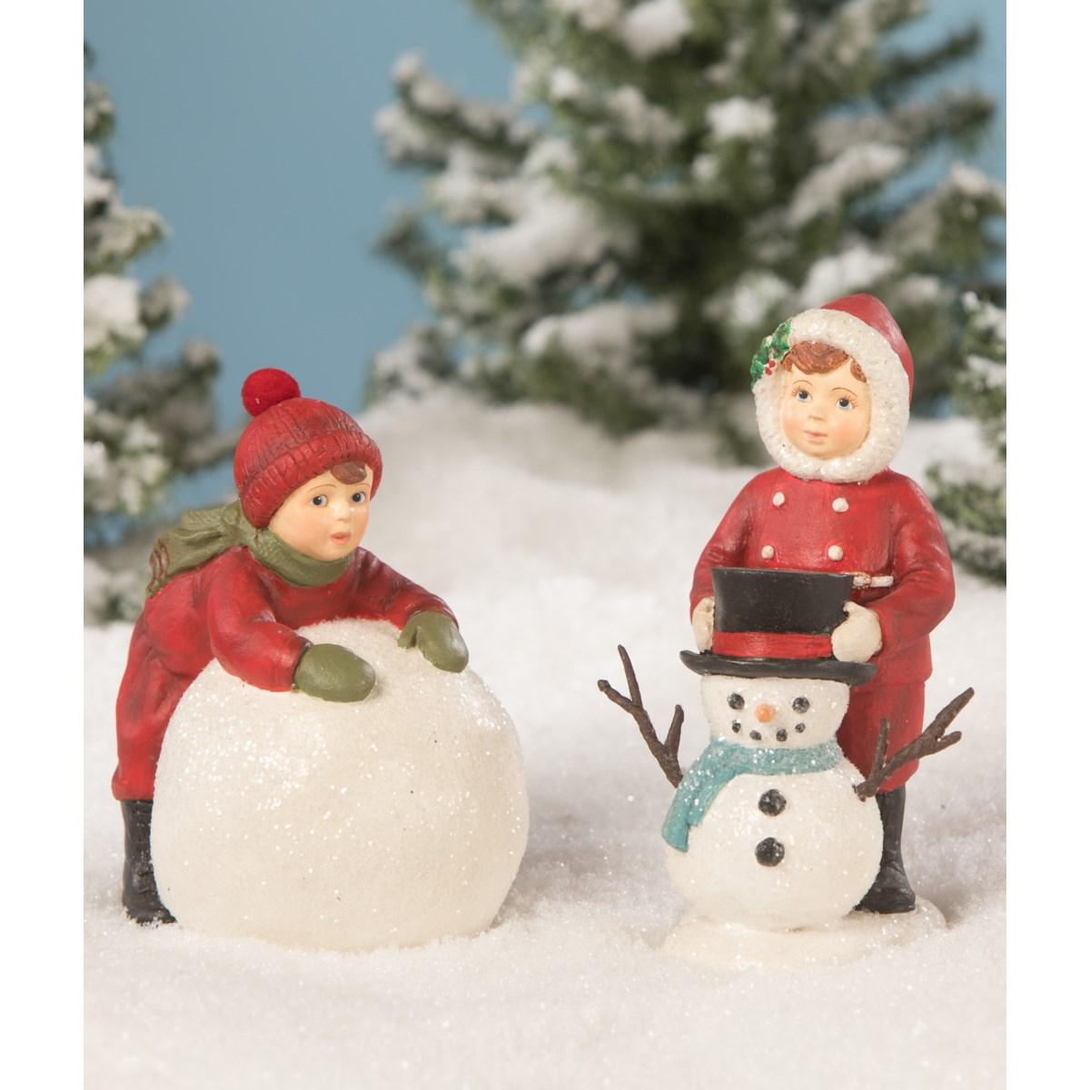 Adam Makes a Snowball