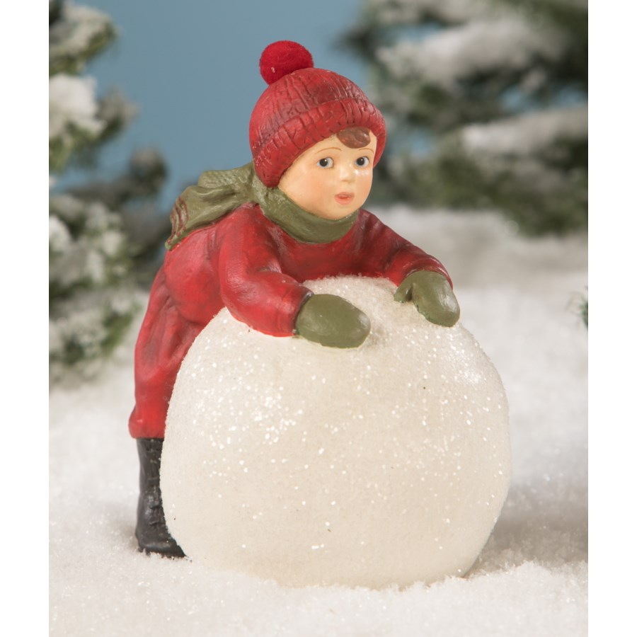 Adam Makes a Snowball