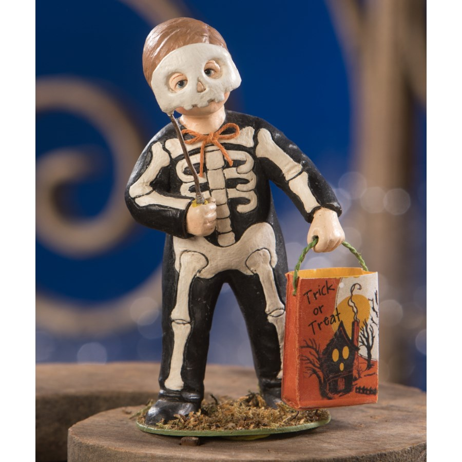 Grim Skeleton Boy